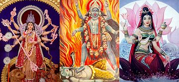3_Shaktism_goddesses_Devi_collage