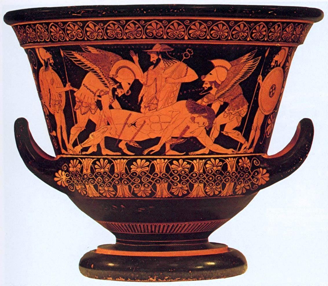 Resultado de imagen de vasija griega odisea